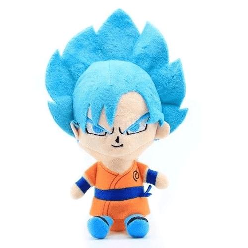 Dragon Ball Plush Goku Blue Default Title Official Dragon Ball Z Merch