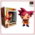 Funko Pop Dragon Ball Goku God Default Title Official Dragon Ball Z Merch