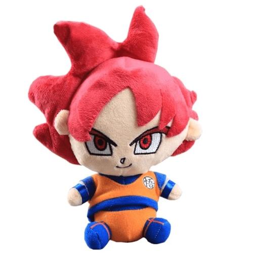 Dragon Ball Plush Goku God Default Title Official Dragon Ball Z Merch