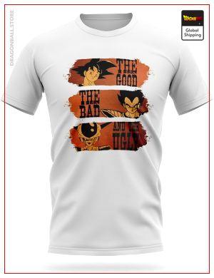 Dragon Ball T-Shirt Good, Bad and Ugly S Official Dragon Ball Z Merch