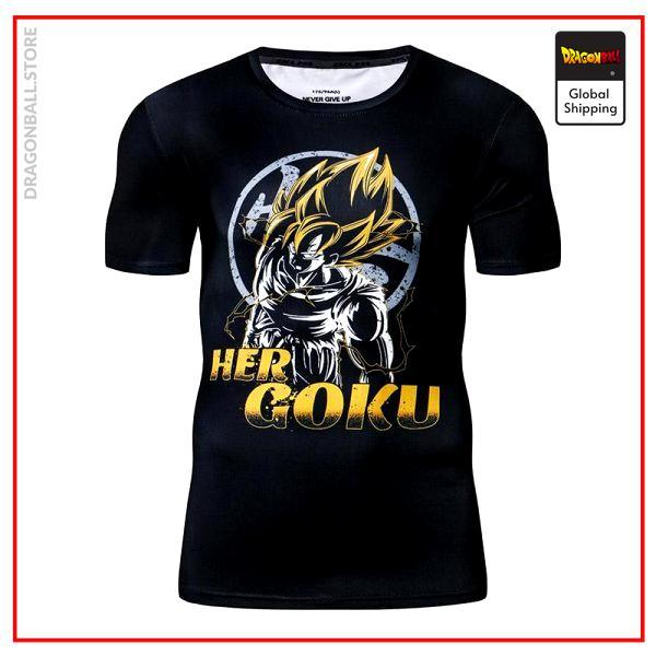 Compression T-Shirt  Her Goku S Official Dragon Ball Z Merch