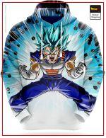 Dragon Ball Super Sweatshirt  Vegeto Enraged 4 / S Official Dragon Ball Z Merch