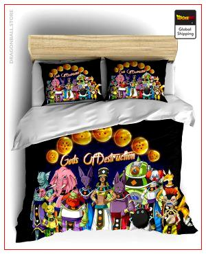 Comforter Cover DBS  Hakai Single - AU (140x210cm) Official Dragon Ball Z Merch