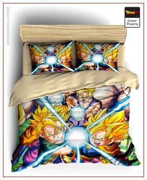 Comforter Cover DBZ  Mini Saiyans Single - AU (140x210cm) Official Dragon Ball Z Merch