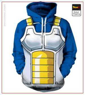 Dragon Ball Z Sweatshirt  Principle Armor S Official Dragon Ball Z Merch