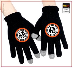 """Dragon Ball gloves  Kanji """"Go"""" Default Title Official Dragon Ball Z Merch"""