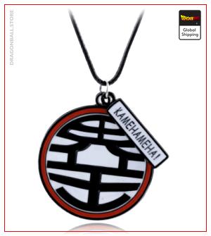 Dragon Ball Z necklace  Kanji Kaio Default Title Official Dragon Ball Z Merch