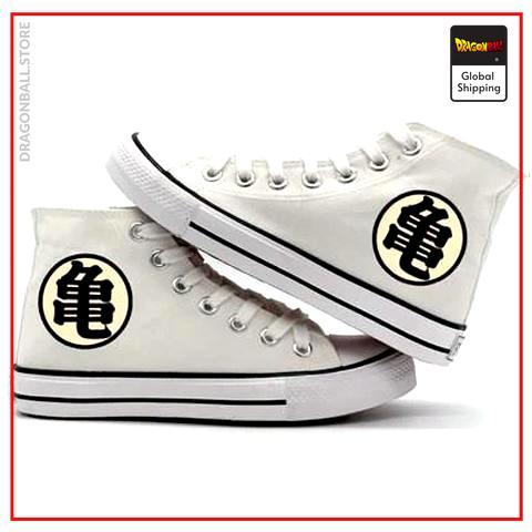 """Dragon Ball Shoes  Kanji """"Kame"""" Black / 35 Official Dragon Ball Z Merch"""