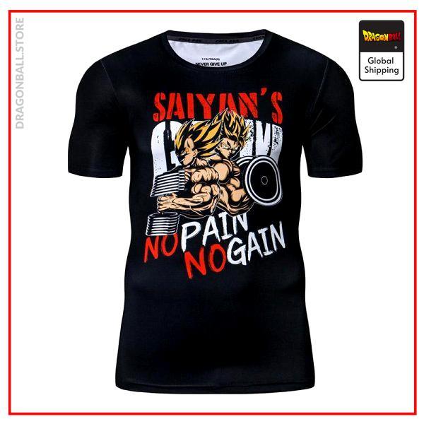 Compression T-Shirt  Duo Saiyan S Official Dragon Ball Z Merch