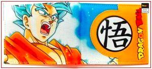 Dragon Ball Z Goku Blue Wallet 1 Official Dragon Ball Z Merch