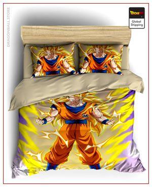 Comforter Cover DBZ Goku SSJ3 SIMPLE (140x210cm)x2 Official Dragon Ball Z Merch