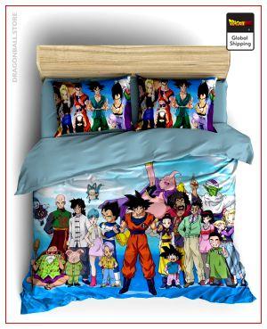 Comforter Cover DBZ  Family Portrait Single - AU (140x210cm) Official Dragon Ball Z Merch