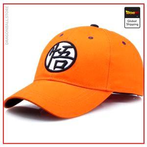 Dragon Ball Z Cap  Kanji Go Orange Official Dragon Ball Z Merch