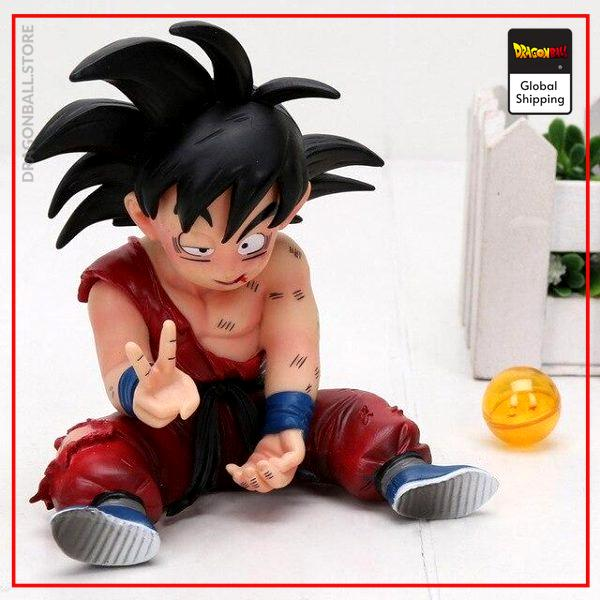 DBZ Figure Goku Small Mini Default Title Official Dragon Ball Z Merch