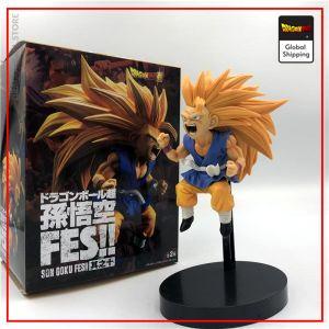 DBGT Figure Goku Small Super Saiyan 3 Default Title Official Dragon Ball Z Merch