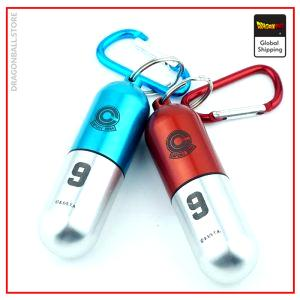 Dragon Ball Z Keychain  Capsule Corp Red Capsule Official Dragon Ball Z Merch