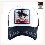 Dragon Ball Z Cap  Goku White/Black Official Dragon Ball Z Merch