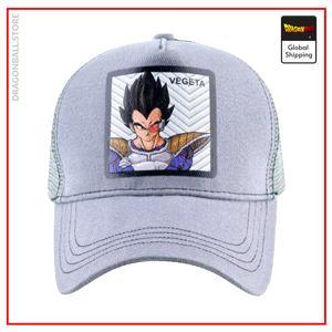 Dragon Ball Z Cap  Vegeta Grey Official Dragon Ball Z Merch
