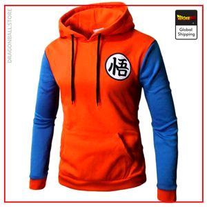 Dragon Ball Z Sweatshirt  DBZ Logo Orange + Blue / S Official Dragon Ball Z Merch