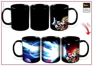 DBZ Thermosensitive Mug  Goku SSJ1 Kamehameha Default Title Official Dragon Ball Z Merch