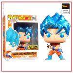 Funko Pop Dragon Ball Goku Blue Kameheha Default Title Official Dragon Ball Z Merch