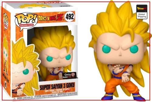 Funko Pop Dragon Ball Goku Super Saiyan 3 Default Title Official Dragon Ball Z Merch
