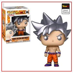 Funko Pop Dragon Ball Goku Ultra Instinct Default Title Official Dragon Ball Z Merch