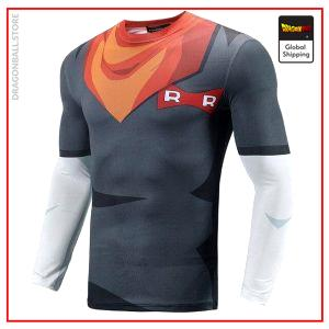 Compression T-Shirt Long C-17 Android 17 / S Official Dragon Ball Z Merch