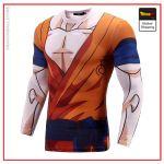 Compression T-Shirt Long Goku Dragon Ball Super Goku / S Official Dragon Ball Z Merch