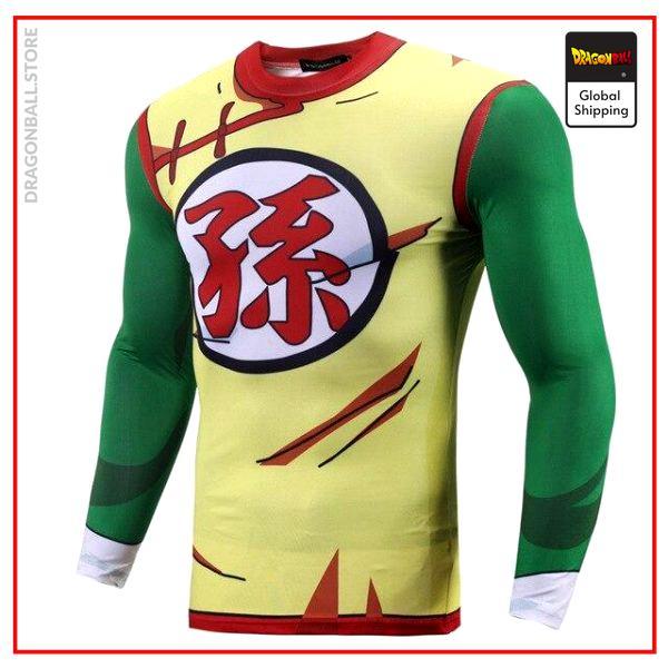 Long Compression T-Shirt Son Gohan Son Honhan / S Official Dragon Ball Z Merch