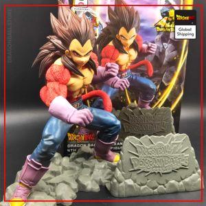DBGT Figure Vegeta Super Saiyan 4 Default Title Official Dragon Ball Z Merch