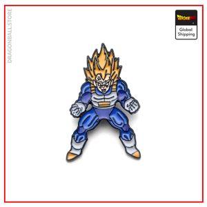 Dragon Ball Z Pin Vegeta Super Saiyan Default Title Official Dragon Ball Z Merch
