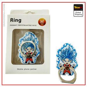 DBS Phone Ring Goku Blue Default Title Official Dragon Ball Z Merch
