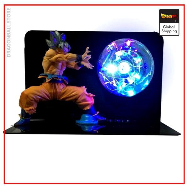 Dragon ball Z lamp Goku Ultra Instinct Default Title Official Dragon Ball Z Merch