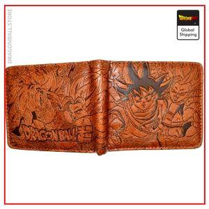 Dragon Ball Z Wallet Warrior Power Light Leather Official Dragon Ball Z Merch