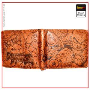 Dragon Ball Z wallet Conquest Light Leather Official Dragon Ball Z Merch