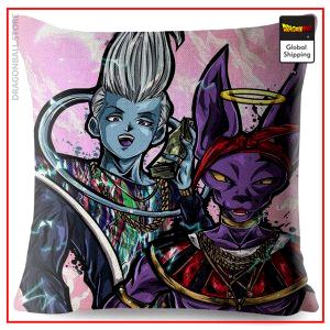 DBS Cushion Cover Beerus and Whis Default Title Official Dragon Ball Z Merch