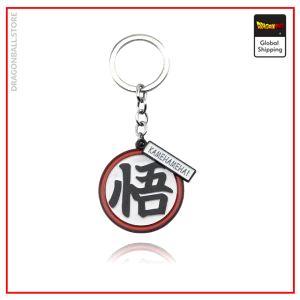 Dragon Ball Z Keychain Kanji Go Default Title Official Dragon Ball Z Merch