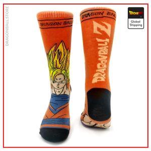 Dragon Ball Socks Goku Super Saiyan Default Title Official Dragon Ball Z Merch