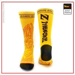 Dragon Ball Socks Super Saiyan Default Title Official Dragon Ball Z Merch