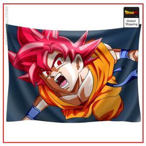 Dragon Ball Canvas Goku SSJ God 1 / 90x75cm Official Dragon Ball Z Merch