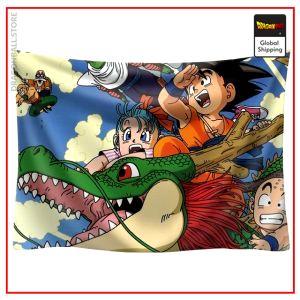 Dragon Ball Canvas Original Saga 2 / 90x75cm Official Dragon Ball Z Merch