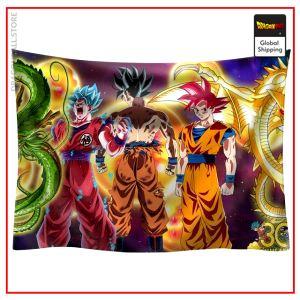 Dragon Ball Canvas Goku Transformations 95x73cm Official Dragon Ball Z Merch