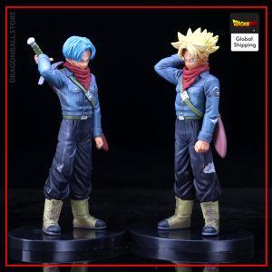 DBZ Figures Trunks Normal & Super Saiyan Model 1 Official Dragon Ball Z Merch