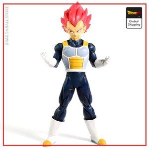 DBS Figure Vegeta Super Saiyan God Default Title Official Dragon Ball Z Merch