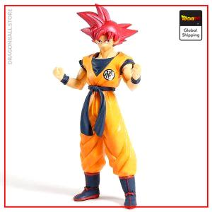 DBS Figure Goku Super Saiyan God Default Title Official Dragon Ball Z Merch