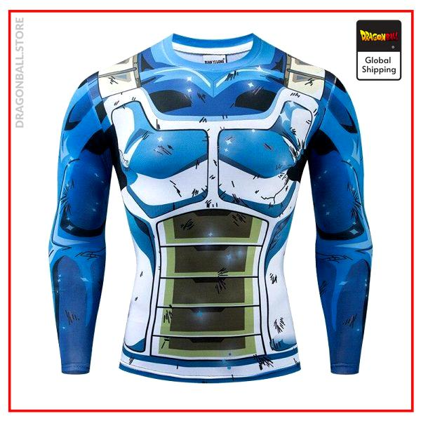 Compression T-Shirt Long Saiyan Improved S Official Dragon Ball Z Merch