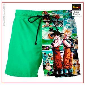 Dragon Ball Bathing Shorts Goku Saga Saiyan LDK003 / M Official Dragon Ball Z Merch