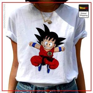DBZ Woman T-Shirt Goku Small S Official Dragon Ball Z Merch