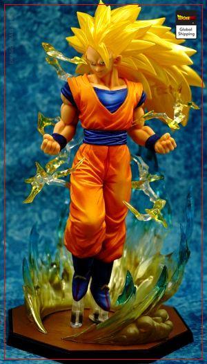 DBZ Figure Goku SSJ3 Default Title Official Dragon Ball Z Merch
